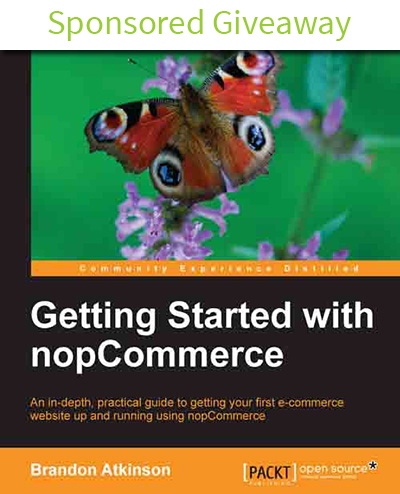 """Getting Started with nopCommerce"" Giveaway"