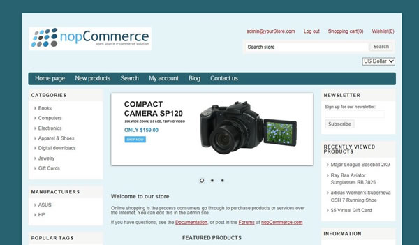 Changing the color theme of your newly created nopCommerce theme