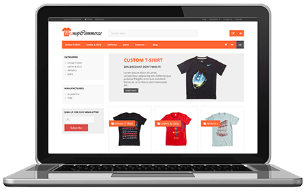 NopLite Responsive nopCommerce Theme available in version 3.50