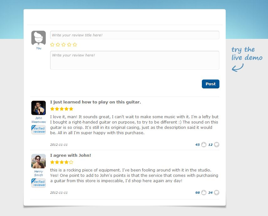 Yotpo Reviews Widget