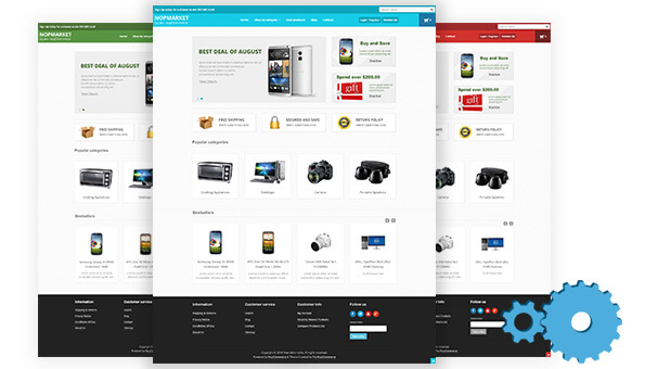 Fully Customizable & Documentated nopCommerce themes