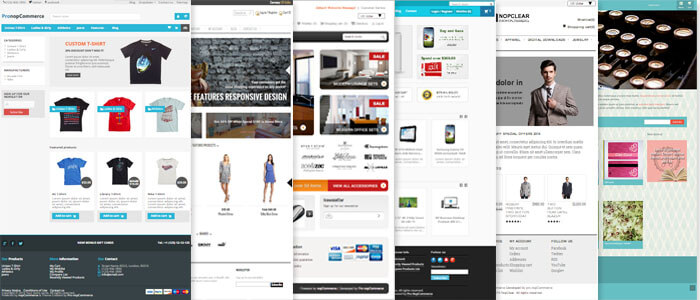 Great selection of nopCommerce themes