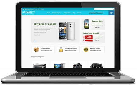 Picture of NopMarket - nopCommerce Responsive Theme