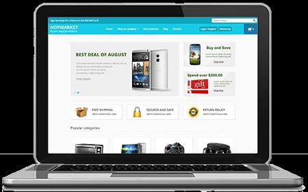 Picture of NopMarket - nopCommerce Responsive Theme