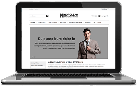 Picture of NopClear - Free nopCommerce Responsive Theme