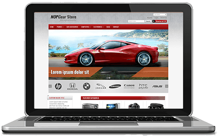 Picture of NopGear - nopCommerce Responsive Theme