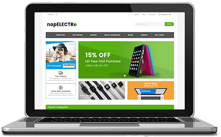 Picture of NopElectro - Free nopCommerce Responsive Theme