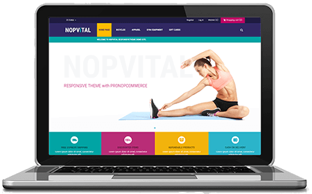 Picture of NopVital - nopCommerce Responsive Theme