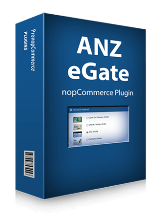Picture of ANZ eGate nopCommerce Payment Plugin