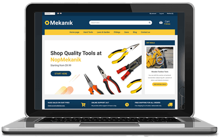 Picture of NopMekanik - nopCommerce Responsive Theme