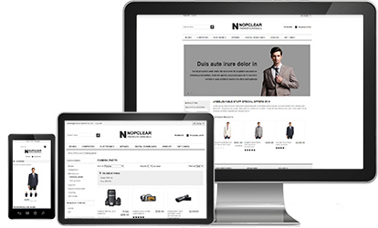 NopClear Responsive Theme