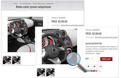 NopGear Responsive  nopCommerce Theme - Product Photo Zoom